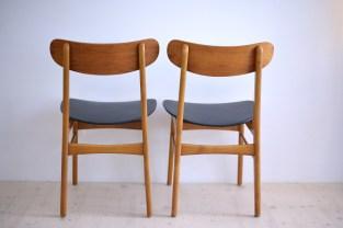 Farstrup Pair of Chairs Teak heyday möbel moebel Zürich Zurich Binz