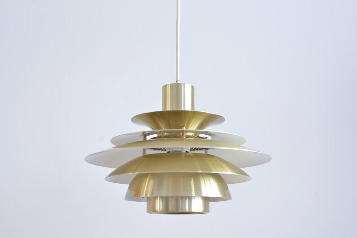 Danish Gold Pendant Lamp heyday möbel moebel Werkhof Binz Zurich Zürich