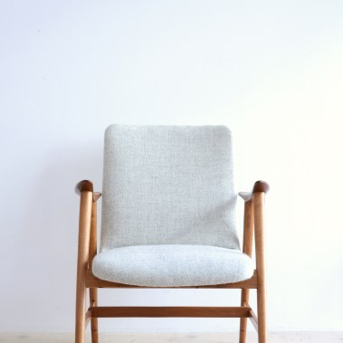 Teak and Oak Lounge Chair Swedish heyday möbel moebel Zurich Zürich Binz Altstetten mid-century vintage