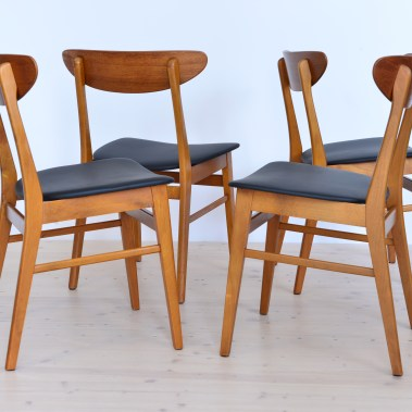 farstrup chair set heyday moebel zurich Binz vintage furniture