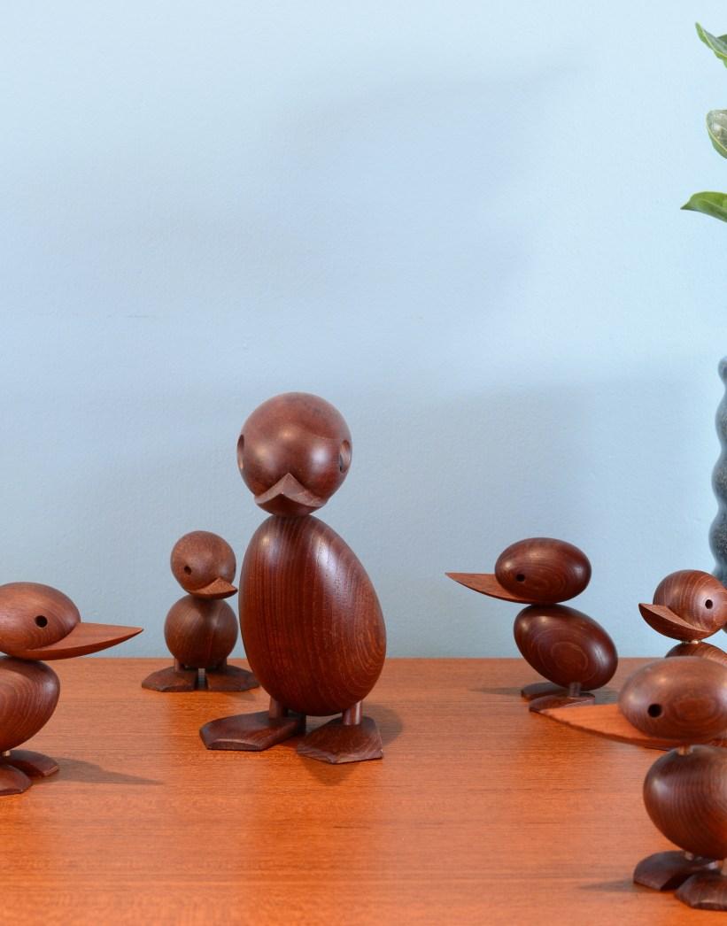 Hans Bolling Duck Family for Torben Orskov & Co
