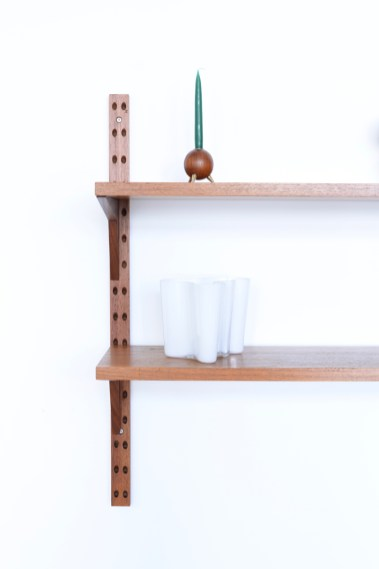 Poul Cadovius Teak Duo Shelf heyday moebel