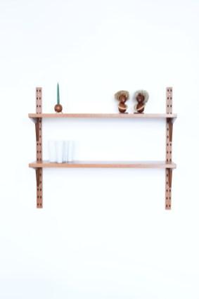 Poul Cadovius Teak Duo Shelf heyday moebel