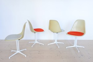 Eames Side Chair with La Fonda Base heyday möbel
