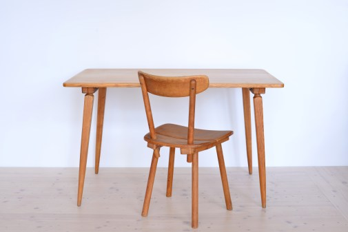 Jacob Muller Ash Dining Table with Chair heyday möbel Zürich