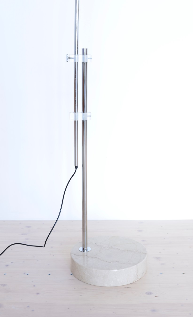 Belux Arc Lamp 1970s, Switzerland. Available at heyday möbel, Grubenstrasse 19, Zürich