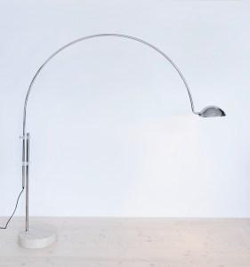 Belux Arc Lamp 1970s, Switzerland. Available at heyday möbel, Grubenstrasse 19, Zürich