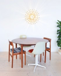 Model 311 Round Dining Table by Peter Hvidt and Orla Molgaard Nielsen 04