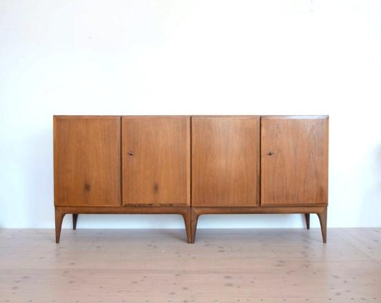 Ströbel Palisander Kommode Cabinet in Rosewood Switzerland 1960s heyday möbel Zürich