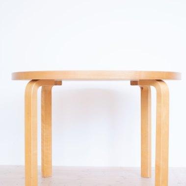 Alvar Aalto 90a table by Artek Finland