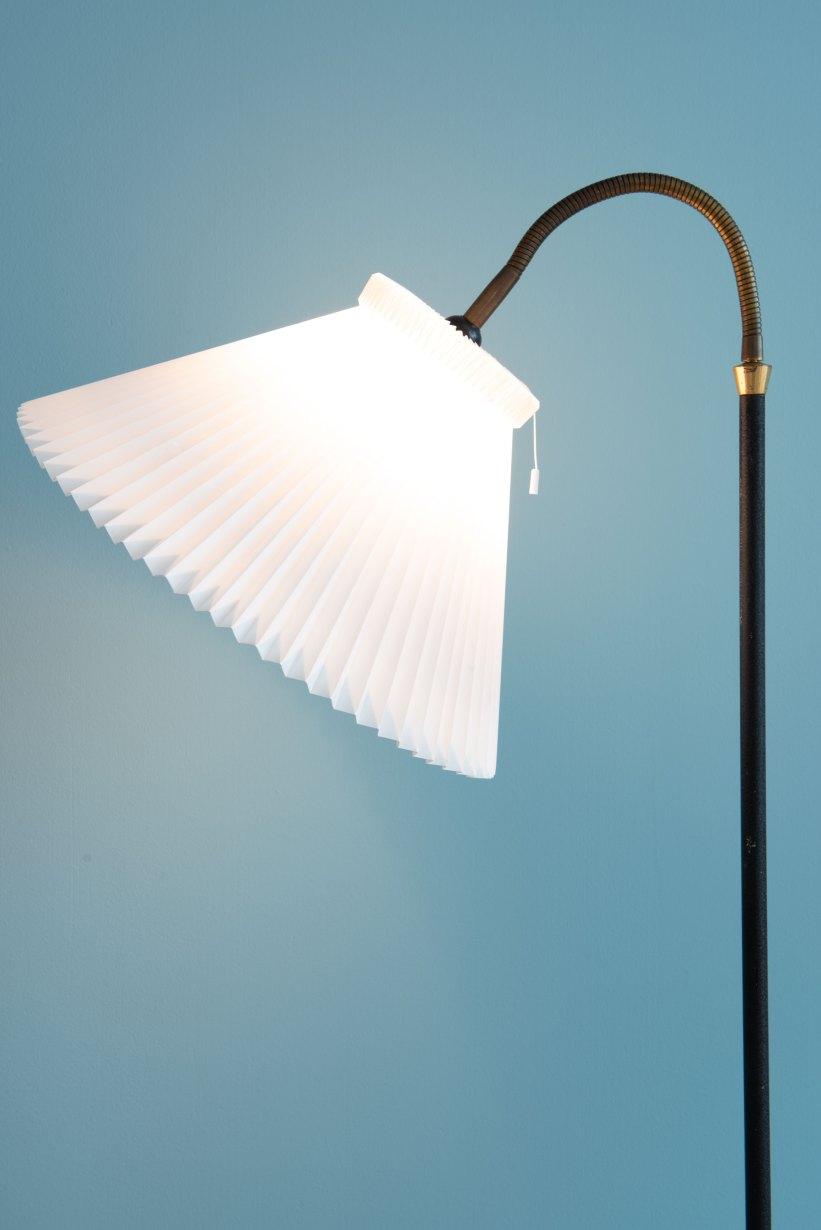 Danish_Le_Klint-Shade_Floor_Lamp_9742