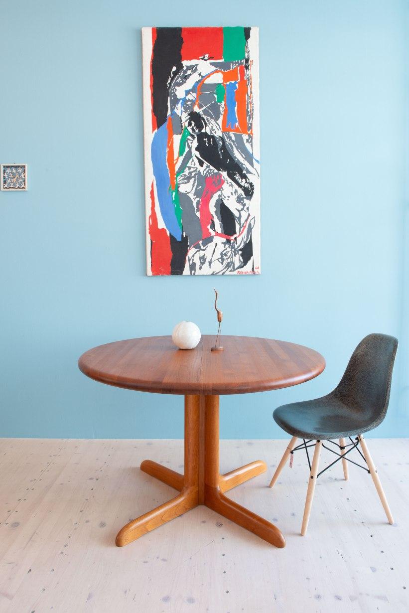 Niels_Otto_Möller__Round_Dining_Table_by_Gudme_Möbelfabrik_heyday_möbel_Zurich_Switzerland_1220