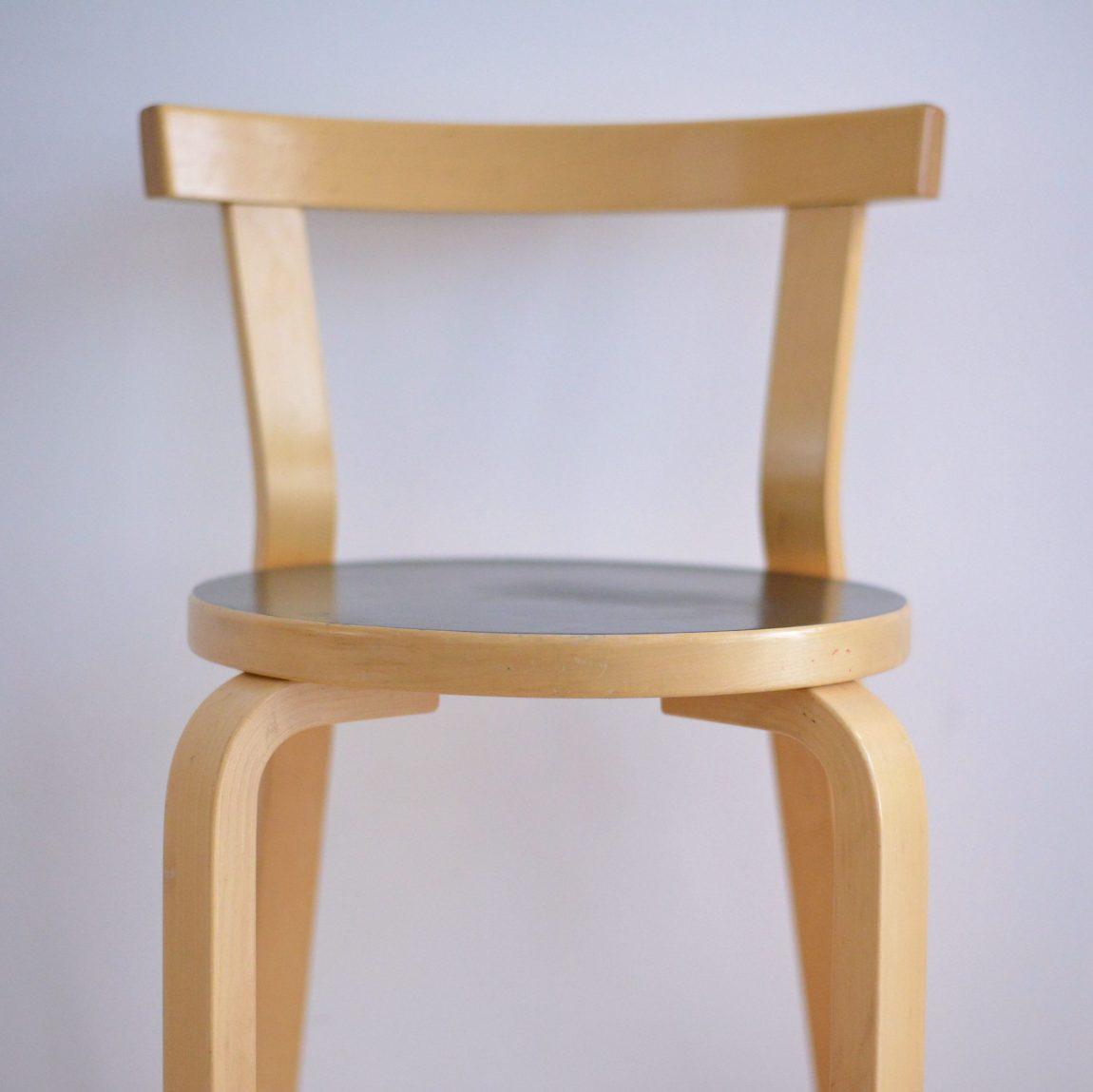 Alvar Aalto No. 68 Chair Finland Finnish Design heyday möbel moebel Zurich Zürich Binz