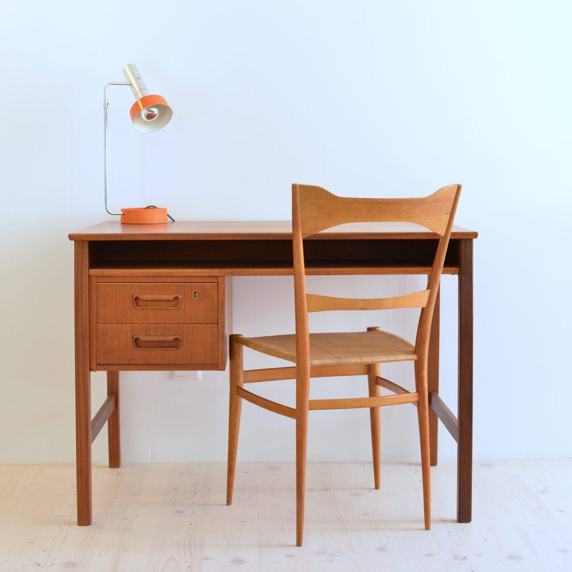 Gunnar Nielsen Tibergaard Teak Desk