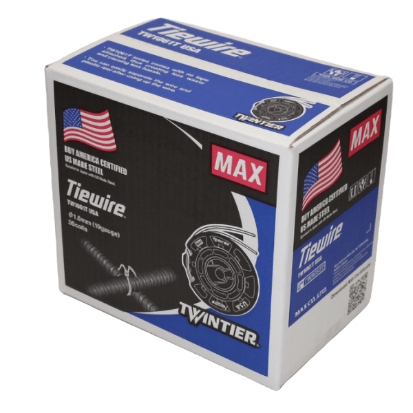 TW1061T-USA Buy America Certified Rebar Tie Wire