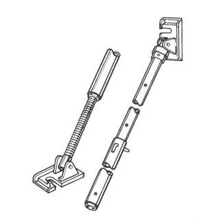 tilt up pipe brace