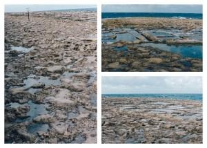 View of Salt Pans, Gozo