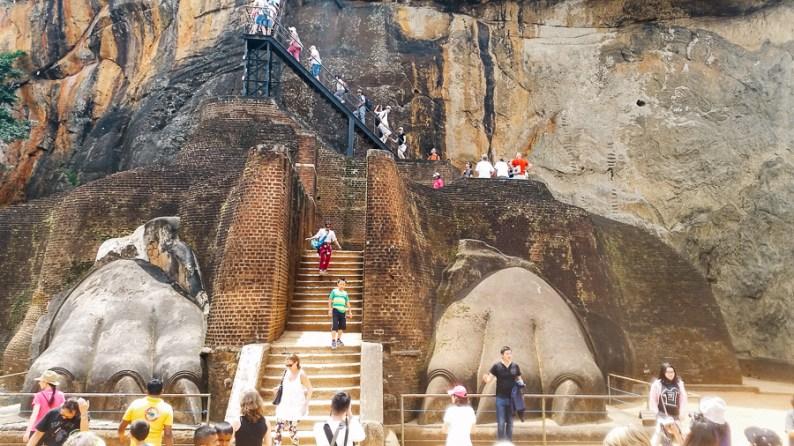 Sigiriya steps| Sri Lanka