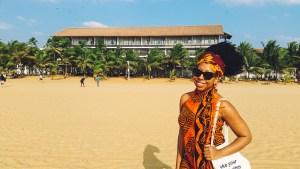 Eulanda on Negombo Beach
