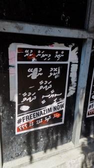 Free Nazim Mohammed Nasheed Malé Maldives