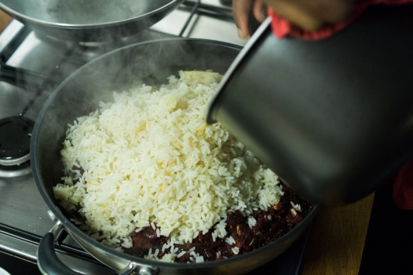 Beetroot beet rice