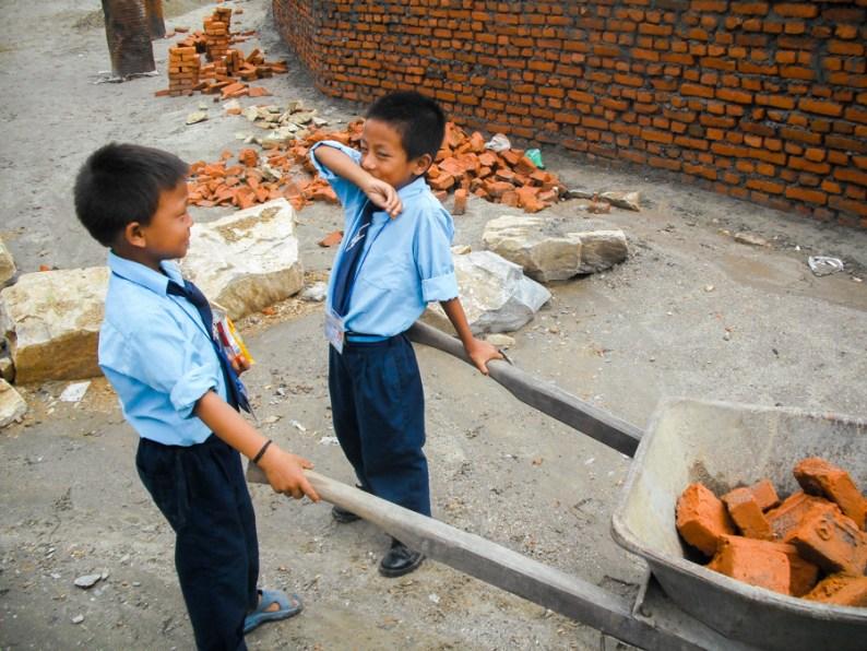 Nepal Adventure Building Walls