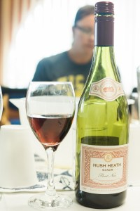 Hush Heath Pinot Noir 2014 at Billingsgate Seafood Market