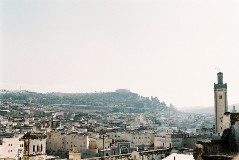 Fes, city skyline, Morocco