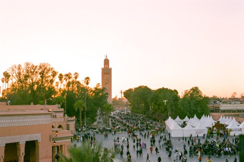 Jemaa El Fna Square Marrakech Morocco