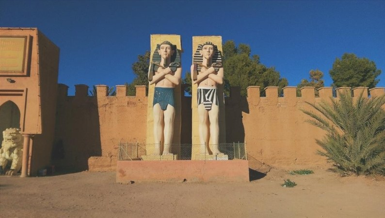 Film Studio, Ouarzazate, Morocco