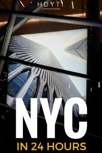 NYC in 24 hours | @dipyourtoesin Pinterest