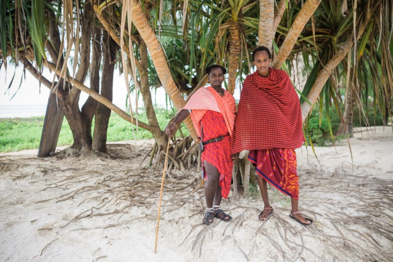 Maasai at Hakuna Majiwe in Zanzibar | @dipyourtoesin
