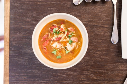 Lobster minestrone with rigatoni | École du Goût | @dipyourtoesin