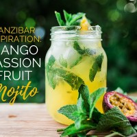 Zanzibar Inspiration: Mango-Passion Fruit Mojito