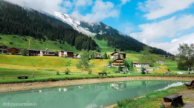 Zug Fischerstüble Arlberg, Austria Alps, Alternative summer destinations