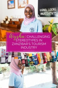 Aiyasha at the Seaweed Center, Paje, Zanzibar   @dipyourtoesin