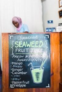 Aiyasha at the Seaweed Center, Paje, Zanzibar | @dipyourtoesin