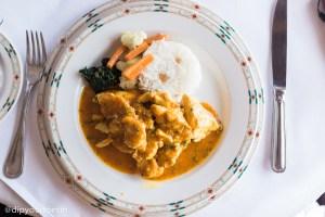 Samaki wa kupaka, boneless fish, Baharia Restaurant, Zanzibar Serena Hotel