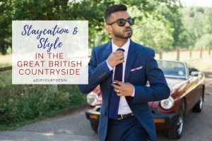 Staycation & Style in the Great British Countryside | via @dipyourtoesin