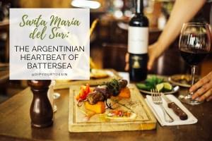 Santa Maria del Sur: The Argentinian Heartbeat of Battersea | via @dipyourtoesin