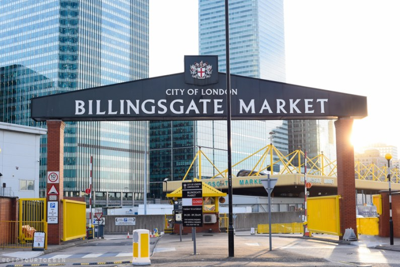 Entrance | Loire Valley Wine and Seafood Tasting at Billingsgate | via @dipyourtoesin