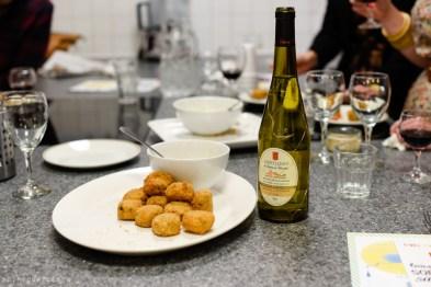 Plaice Goujons | Loire Valley Wine and Seafood Tasting at Billingsgate | via @dipyourtoesin