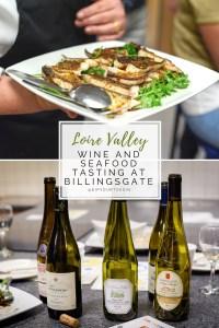 Wine and Seafood Tasting at Billingsgate Seafood School | via @dipyourtoesin.com