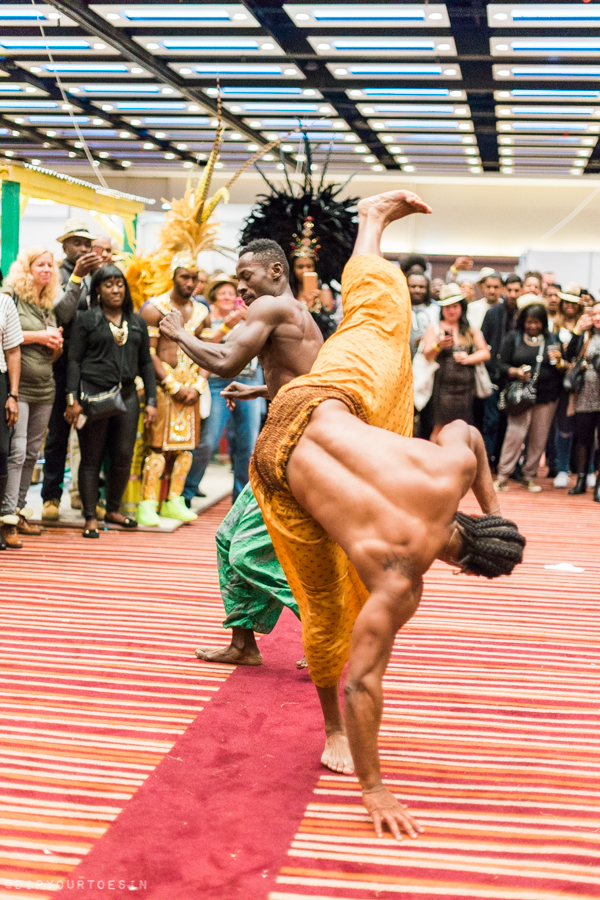 Parabola Dance Brazil Capoeira | UK Rum Festival 2016 Highlights