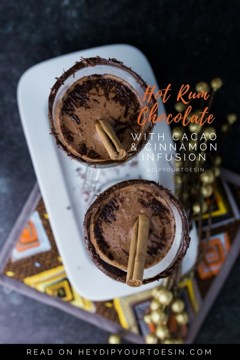 Looking for a dairy-free hot chocolate recipe with loads of flavour? Try this holiday concoction!