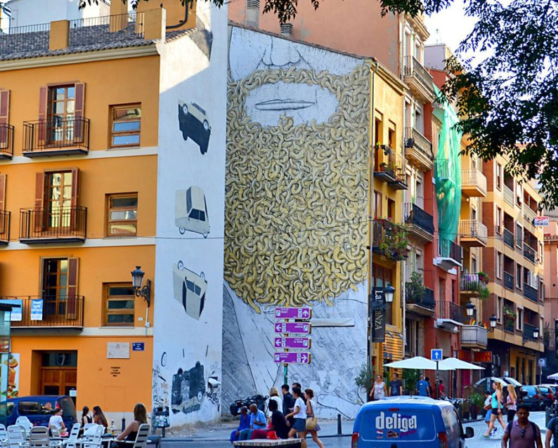 modern art in Valencia