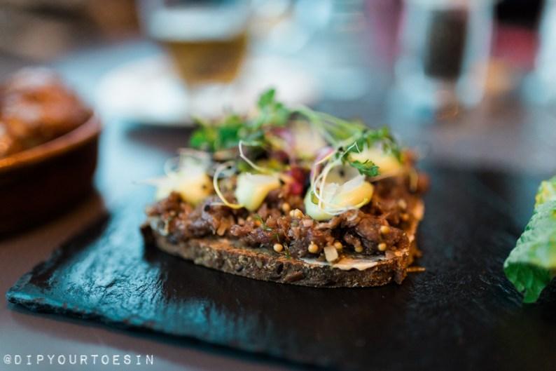 Reindeer Tartare at Smurstodin | 10 Global Stops for the Foodie Traveller!