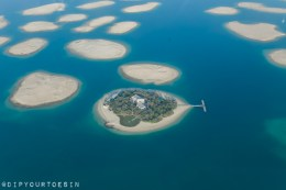 World Islands in Dubai from Seawings Seaplane