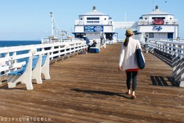 Malibu Pier | Visiting Los Angeles? Easy Itinerary Suggestions for the Chilled-Out Traveller