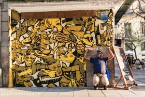Disneylexya | Street Art | Valencia Urban Adventures, Spain